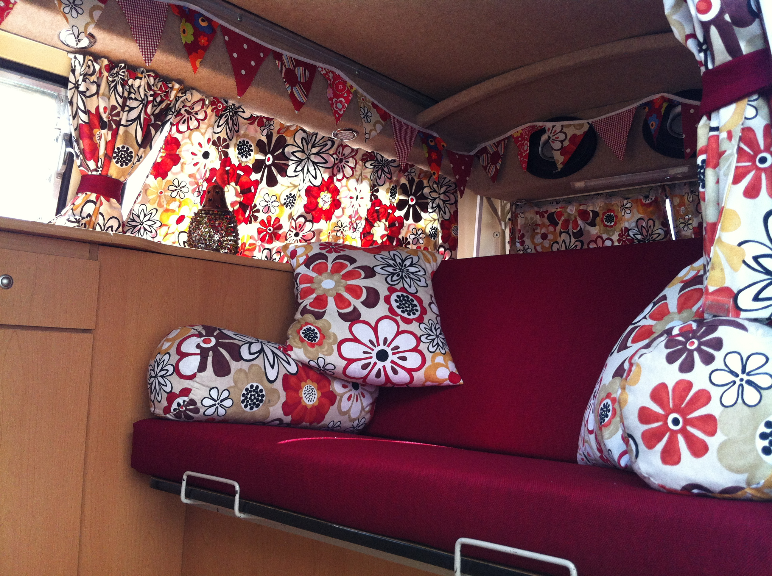 Retro camper curtains - Vw Camper Curtains Ltd Winwood New1 Img_1167