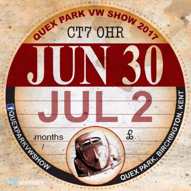 Quex Park VW Show 2017