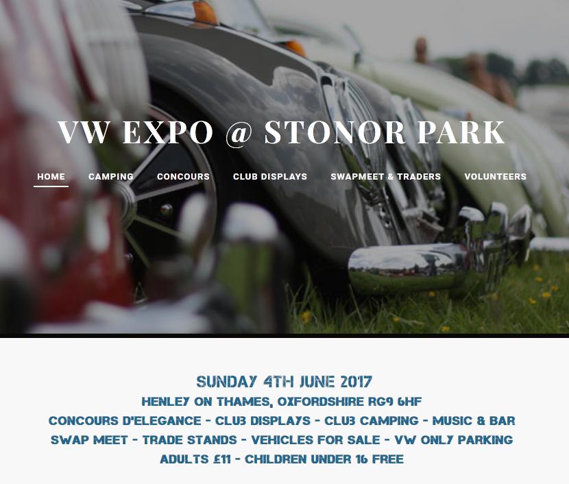VW Expo Stonor Park 2017