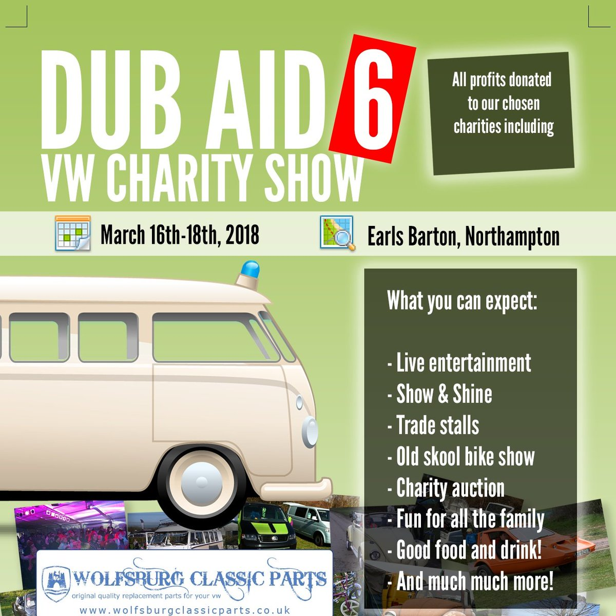 Dub Aid 6 - Volksource VW Events 2018