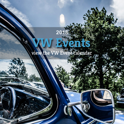 VW Events 2018 VW Shows 2018