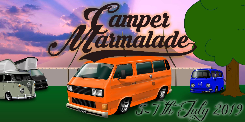 Camper Marmalade 2019- Volksource VW Events 2019